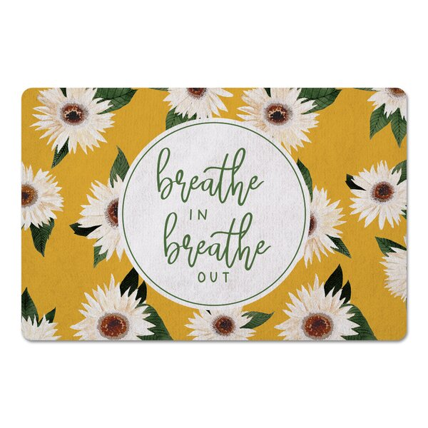 Imaani Breathe in Breathe out Kitchen Mat