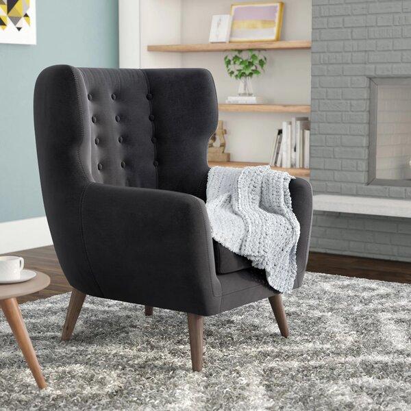 Alejandro Wingback Chair by Corrigan Studio