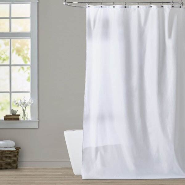 Frost Shower Curtain by Symple Stuff