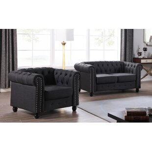 Howington 3 Piece Living Room Set by Alcott Hill®