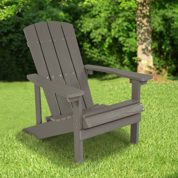 Pinette Plastic/Resin Adirondack Chair By Breakwater Bay