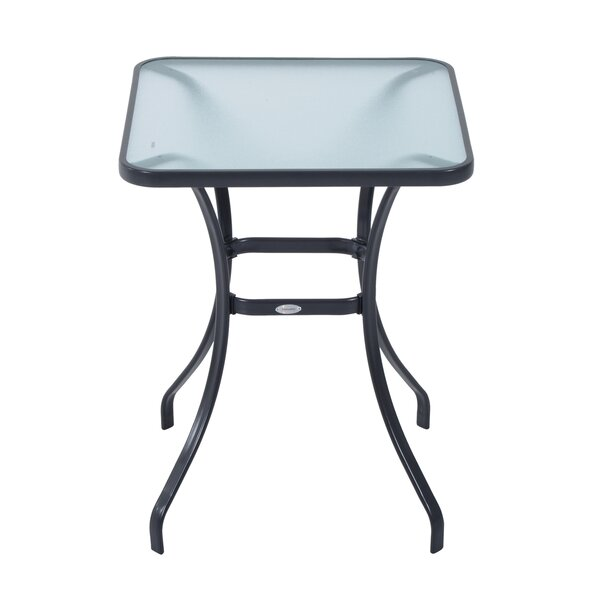 Maeve Powder-Coated Steel Bistro Table by Winston Porter