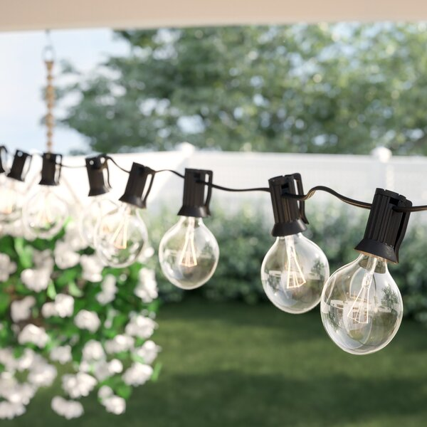 Bal Harbour 50' Outdoor 50 - Bulb Globe String Light by Sol 72 Outdoor™