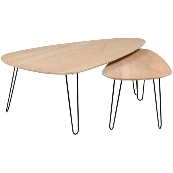 Laverty 2 Piece Nesting Tables by Union Rustic