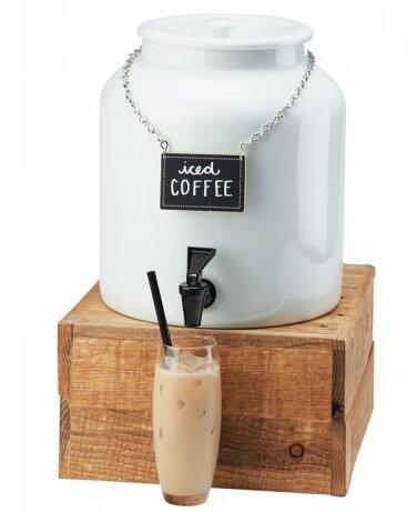 1.5 Gallons Porcelain Beverage Dispenser by Cal-Mil