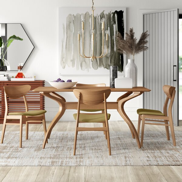 Lillard 5 Piece Dining Set by Mercury Row