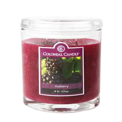Mulberry Jar Candle by Colonial Candle