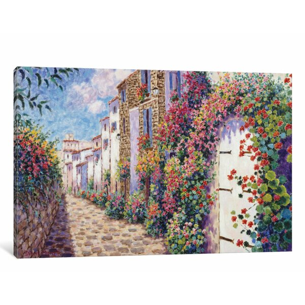 Antibes Painting Print on Wrapped Canvas by East Urban Home