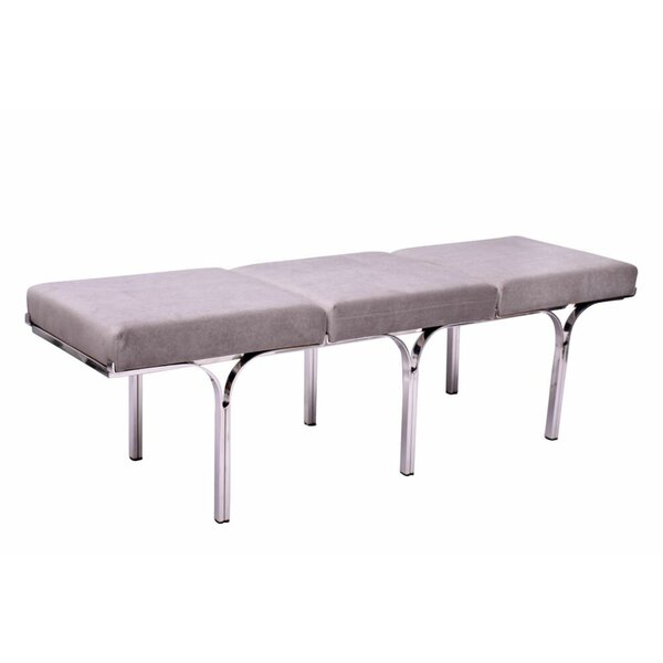 Magdalena Upholstered Bench by Everly Quinn
