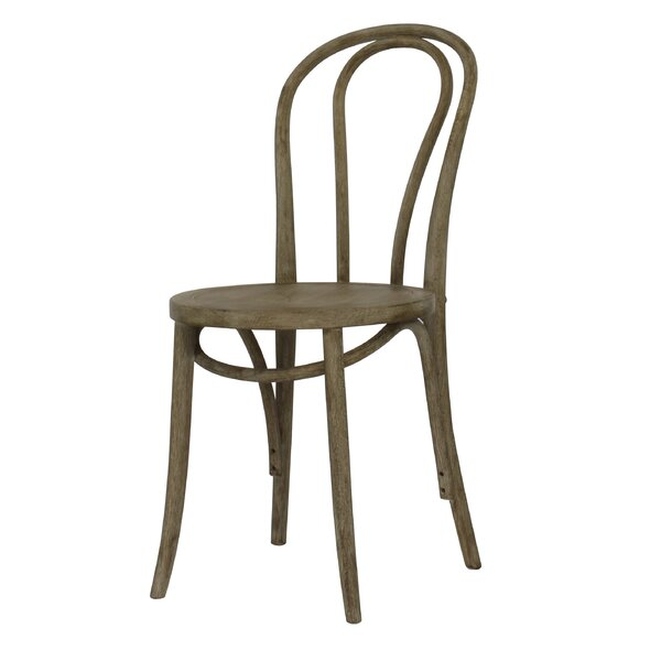 Karolyne French Cafe Dining Chair (Set of 2) by Highland Dunes