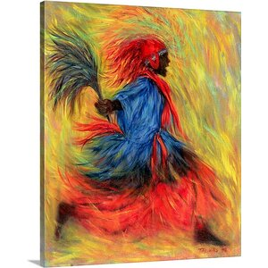 'The Dancer, 1998' by Tilly Willis Painting Print on Canvas by Great Big Canvas