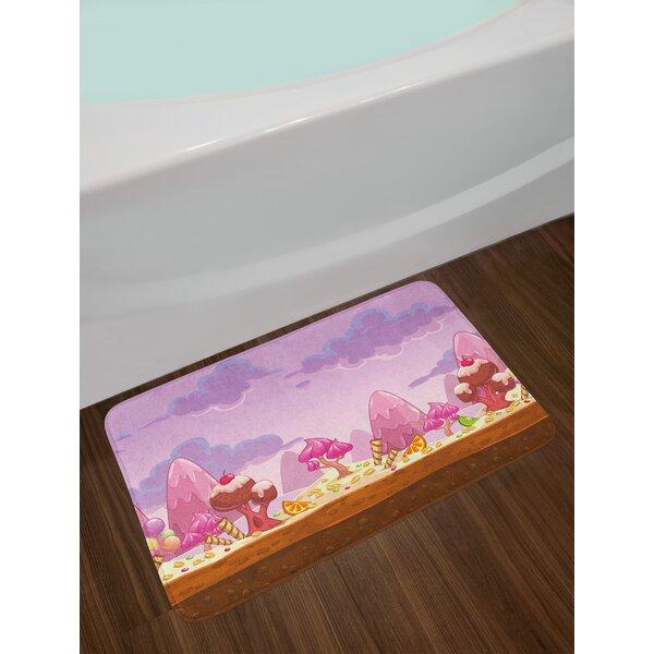 Cartoon Girls Bath Rug by East Urban Home