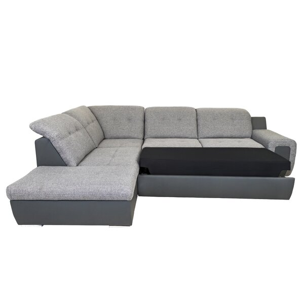 Latest Style Astin Left Hand Facing B Sleeper Sectional by Latitude Run by Latitude Run