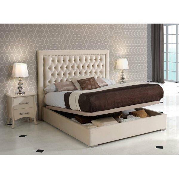 Upholstered Storage Platform Bed by Noci Design