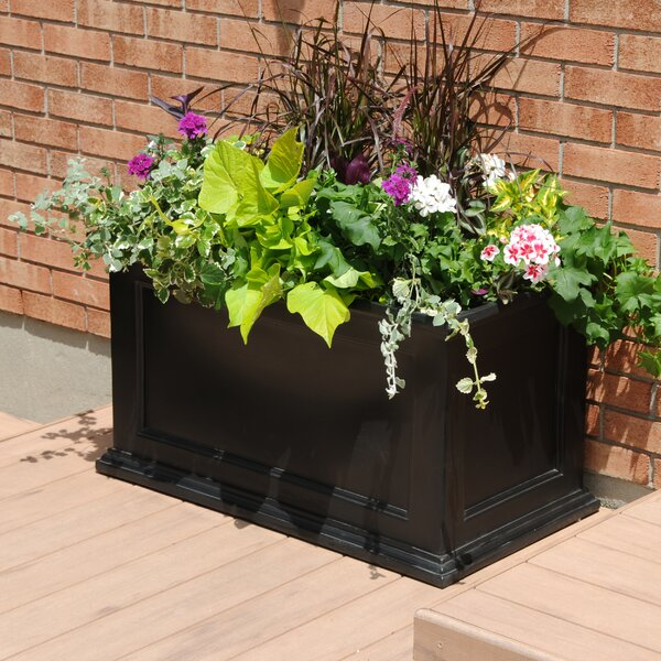 Fairfield Self Watering Plastic Planter Box By Mayne Inc..