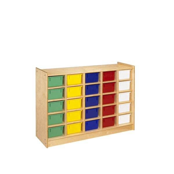 Cubbie 25 Compartment Cubby by A&E Wood Designs