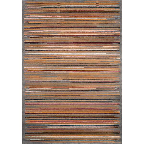 Harford Gray/Brown Area Rug by Latitude Run