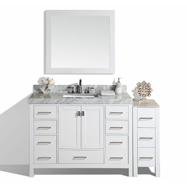 Laub 61 Single Bathroom Vanity Set with Mirror by House of Hampton