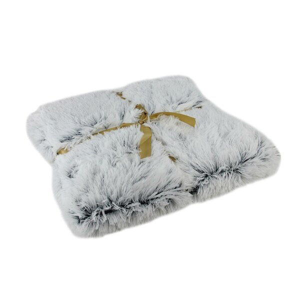 Schroeders Plush Faux Fur Blanket by Mercer41
