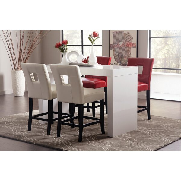 Nisbet 5 Piece Counter Height Dining Set by Ivy Bronx Ivy Bronx