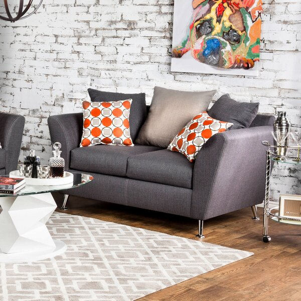 Mcmurry Contemporary Loveseat by Brayden Studio