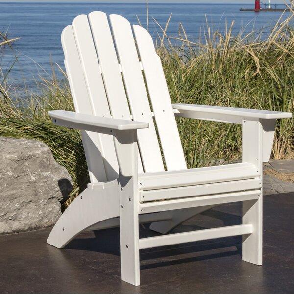 Vineyard Curveback Adirondack Chair by POLYWOOD®