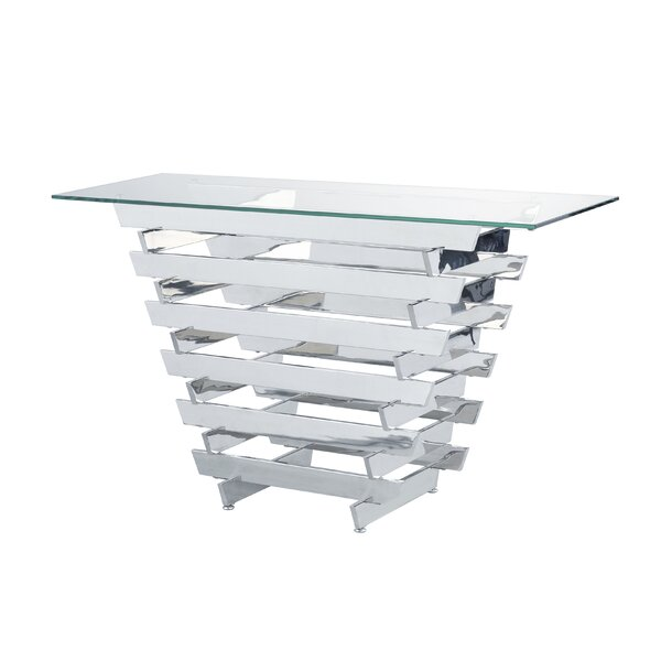 Sayles Modern Living Room Console Table by Orren Ellis Orren Ellis