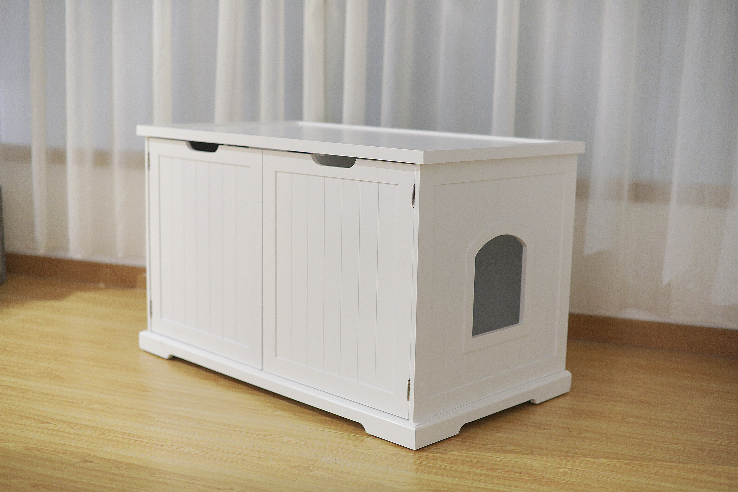 around cat a litter furniture home decor box bench curtain ideas