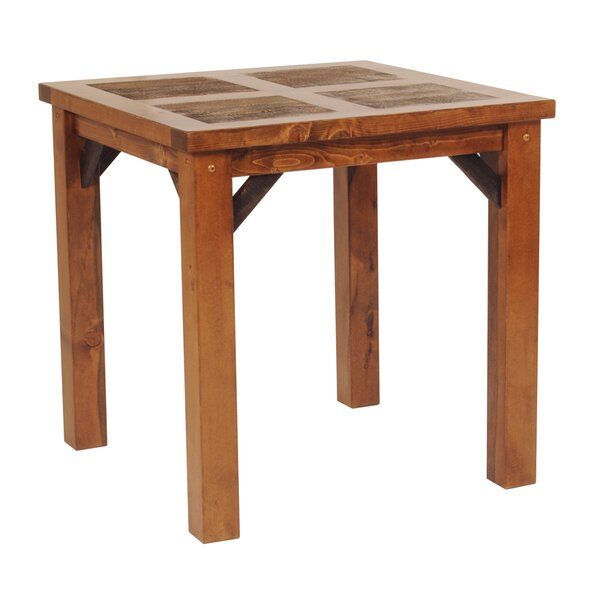 Jaramillo Pine Solid Wood Dining Table by Loon Peak Loon Peak
