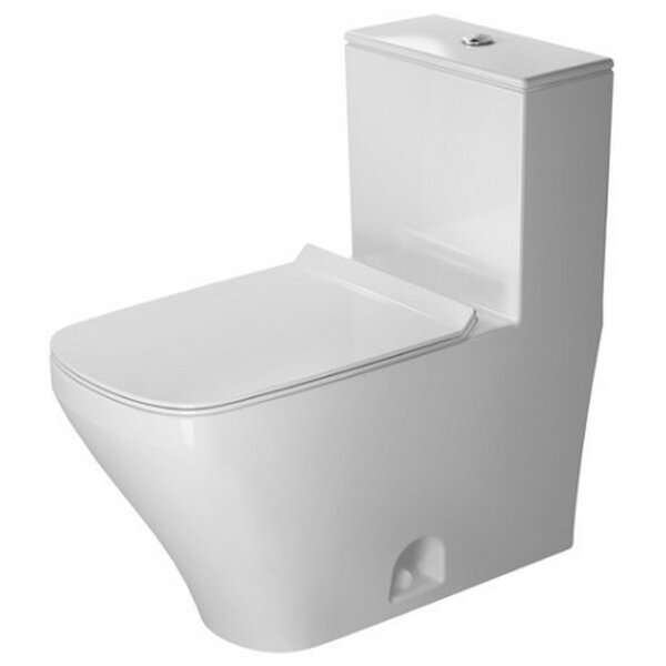 DuraStyle Dual Flush Elongated One-Piece Toilet Wondergliss by Duravit