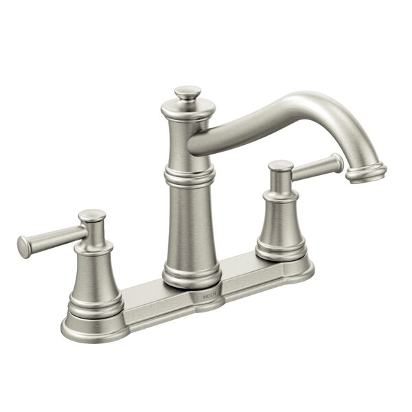 Belfield Double Handle Kitchen Faucet by Moen