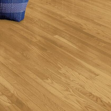Manchester 2.25 Solid Red Oak Hardwood Flooring in Blonde by Bruce Flooring