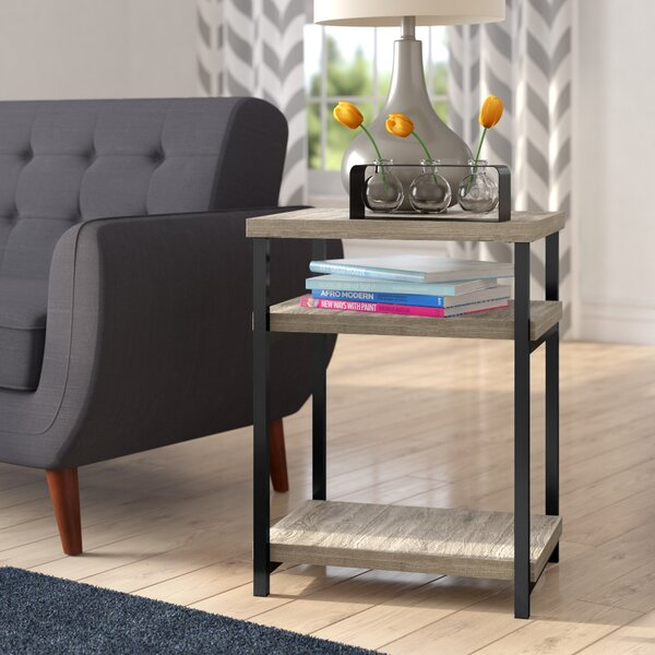 Comet End Table by Mercury Row