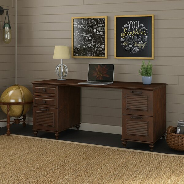 Volcano Dusk Executive Desk by Kathy Ireland Office by Bush