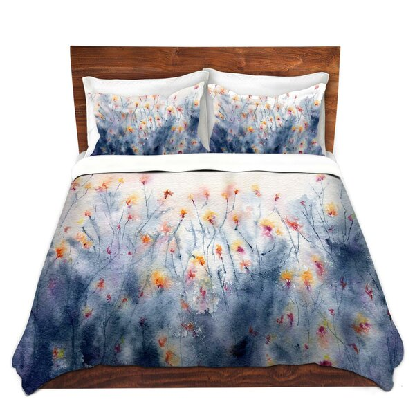 Floral Splendor Duvet Cover Set