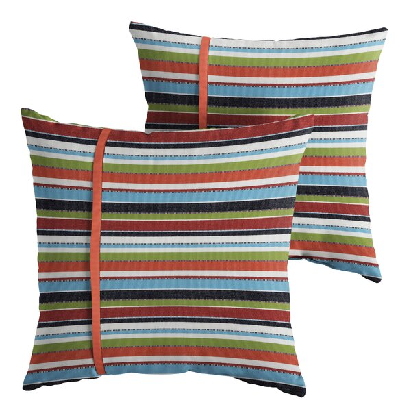 Vankirk Indoor/Outdoor Throw Pillow (Set of 2) by Red Barrel Studio