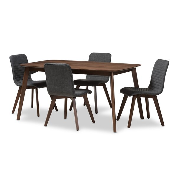 Critchfield 5 Piece Dining Set by George Oliver