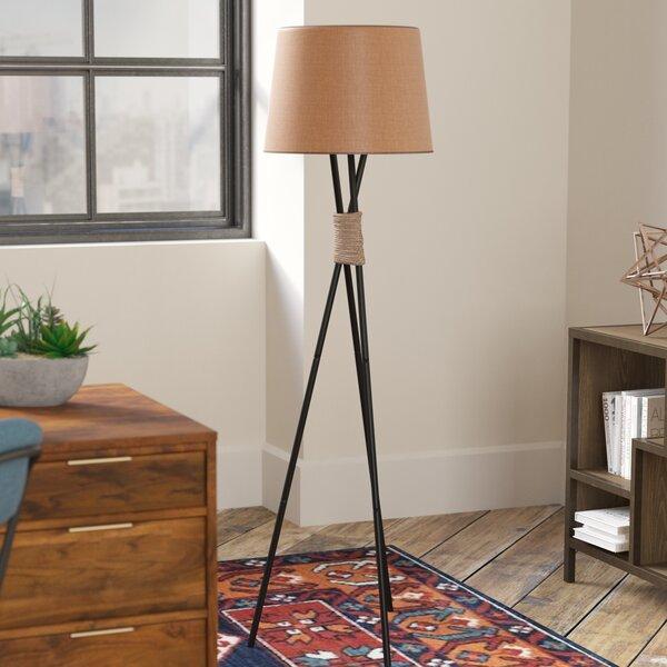 Azulejo 58.5 Tripod Floor Lamp by Langley Street