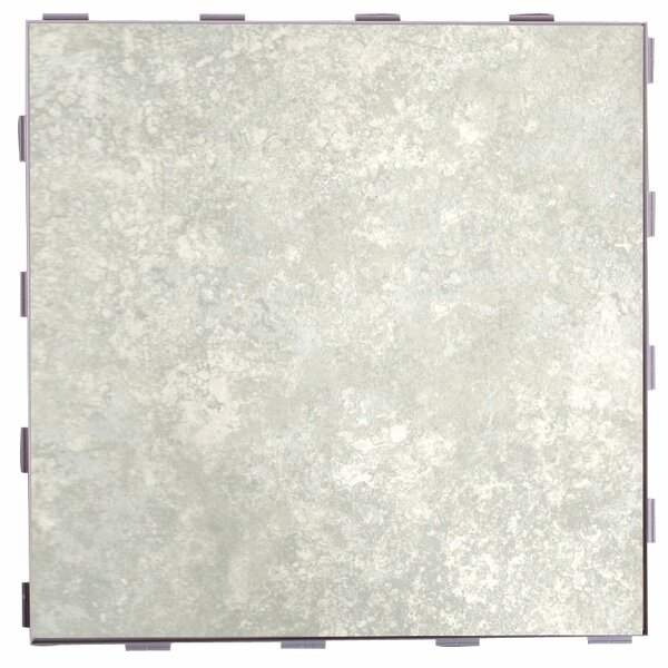 Classic ThinLine 12 x 12 Porcelain Field Tile in Mist by SnapStone