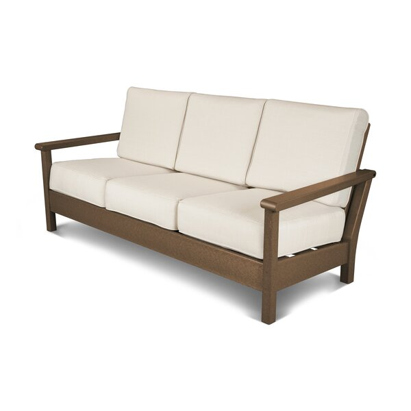 Harbour Patio Sofa with Cushions by POLYWOOD®