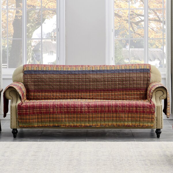 Gold Rush Sofa Slipcover by Barefoot Bungalow