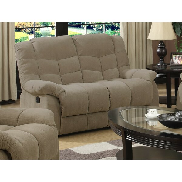 Heaven on Earth Reclining Loveseat by Sunset Trading