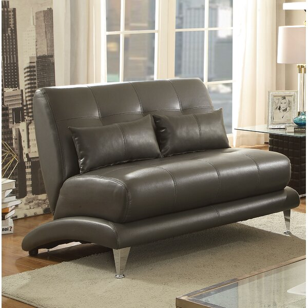 Wide Selection Gutshall Contemporary Loveseat by Ivy Bronx by Ivy Bronx