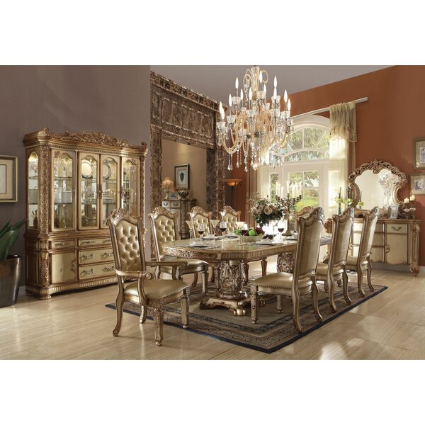 Synthia 9 Pieces Extendable Dining Set by Astoria Grand