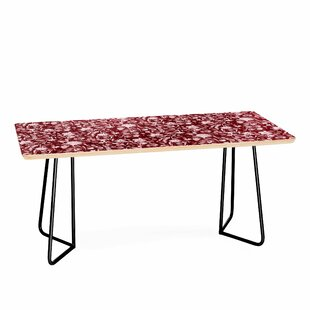 Upside Floral Winter Coffee Table