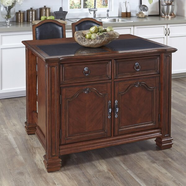 Plains Kitchen Island Set by Astoria Grand