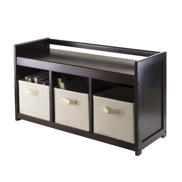 Vickers 4 Piece Storage Bench by Red Barrel Studio
