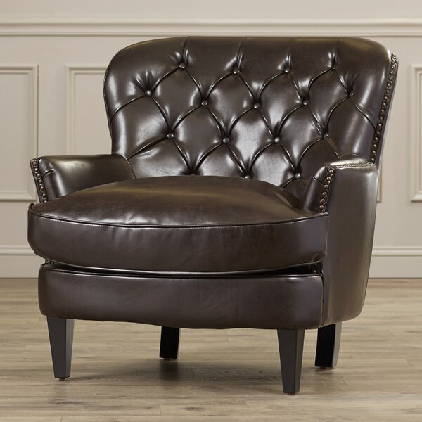 Moultrie Club Chair by Alcott Hill
