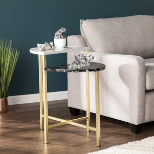 Arsenovic End Table by Orren Ellis