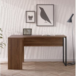 Inexpensive Marcellus L-Shape Executive Desk ByEbern Designs